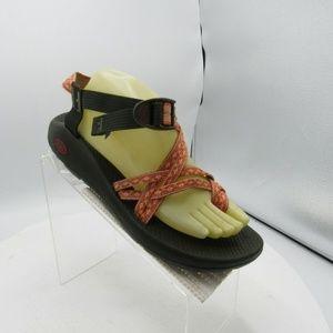 Chaco ZX2 Size 11 M Orange Sport Sandals B4A10